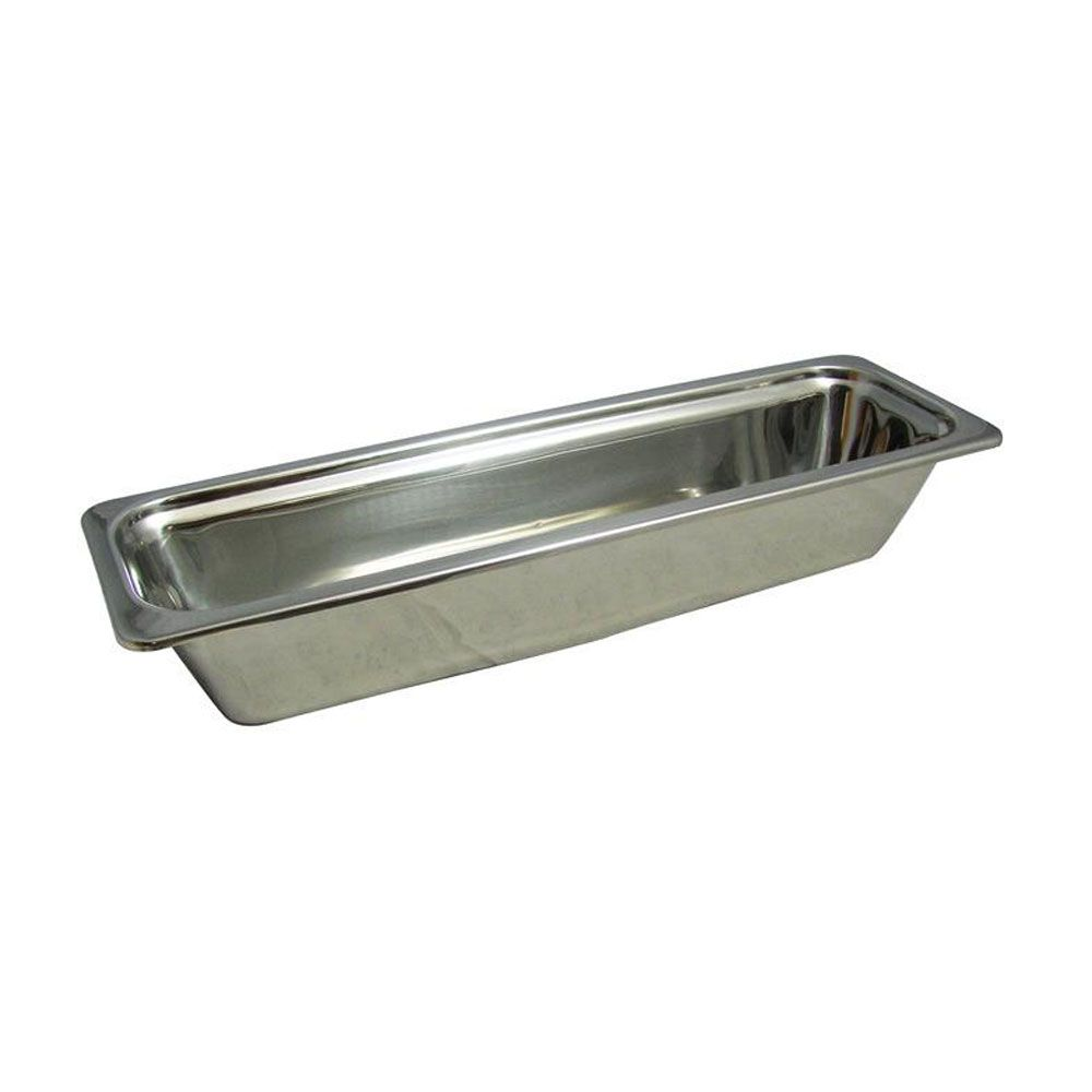 4 Qt 20 31 32 X 6 1 2 X 4 Inch Stainless Steel Pan Plain Case Of 2 Stainless Steel Pans Steel Restaurant Stainless Steel