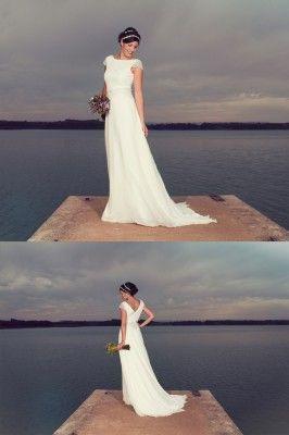 Vestidos de novia civil en zaragoza