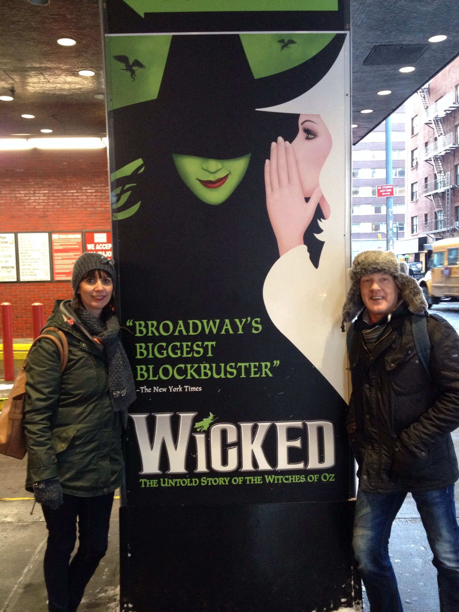 Wicked.  New York
