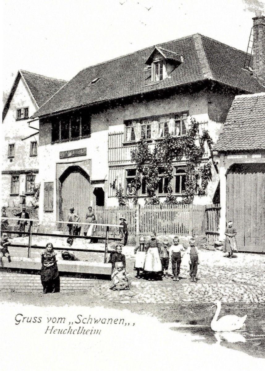 Vintage Picture Of An Old Inn In Heuchelheim Hessen Central Germany Picture An Inn In 2020 Vintage Abbildungen Gasthaus At Least