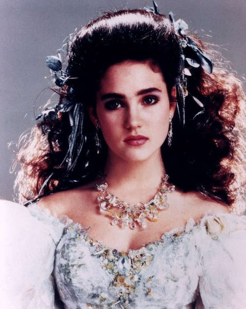 Jennifer Connelly as Sarah from Labyrinth   LABYRINTH ... Labyrinth 1986 Sarah