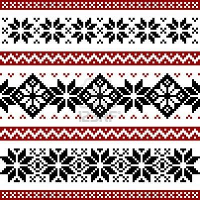 Nordic Pattern Knitting Charts Stitch Patterns Knitting Patterns