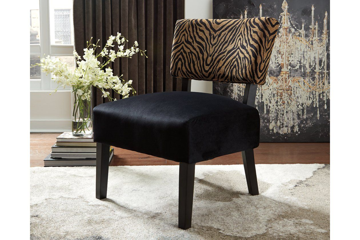 Parvin Accent Chair Ashley Furniture HomeStore Printed