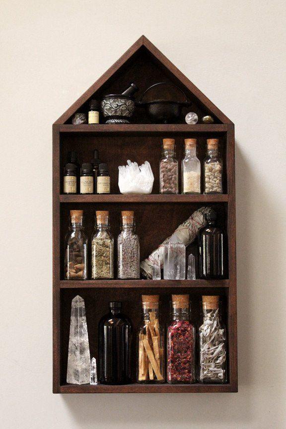 New House Of Apothecary Shelf Decor
