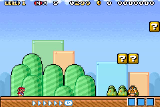 Super Mario Advance 4 Super Mario Bros 3 Snes Palette E