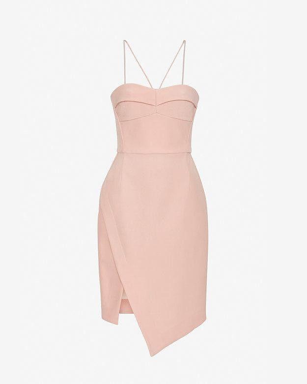 Intermix  Nicholas EXCLUSIVE Bonded Silk Bustier Dress