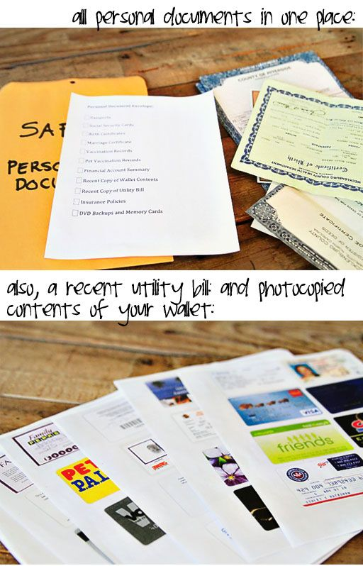 Organizing and Storing Personal and Important Legal Documents via lilblueboo.com #organization