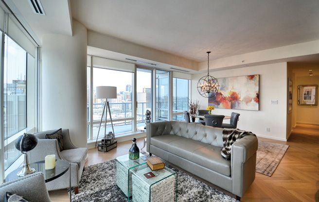 Furnished 2 Bedroom Plus Den Condo Suite In Shangri La Hotel Downtown  Toronto
