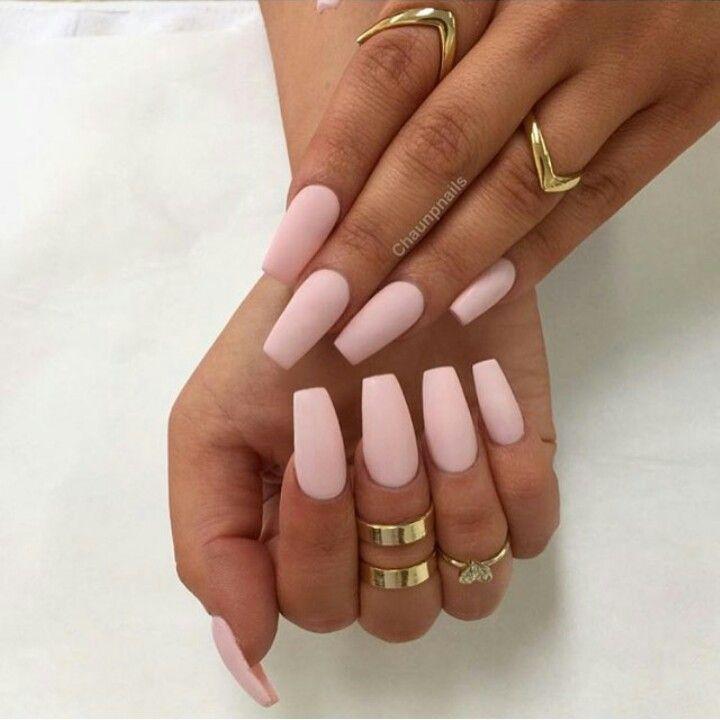 Powder pink | Nails | Pinterest | Powder pink, Nail inspo and Makeup