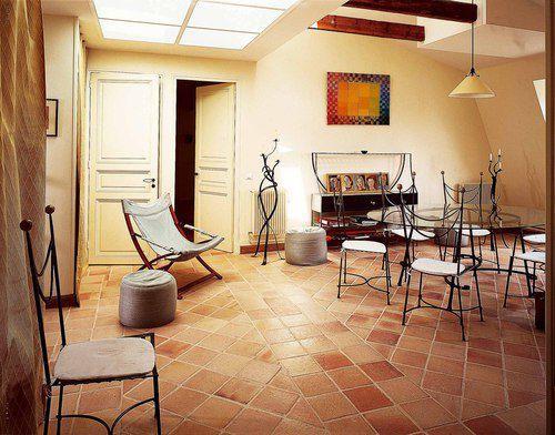 Carrelage en terre cuite faire construire sa maison tegels pinterest - Construire une maison en terre ...