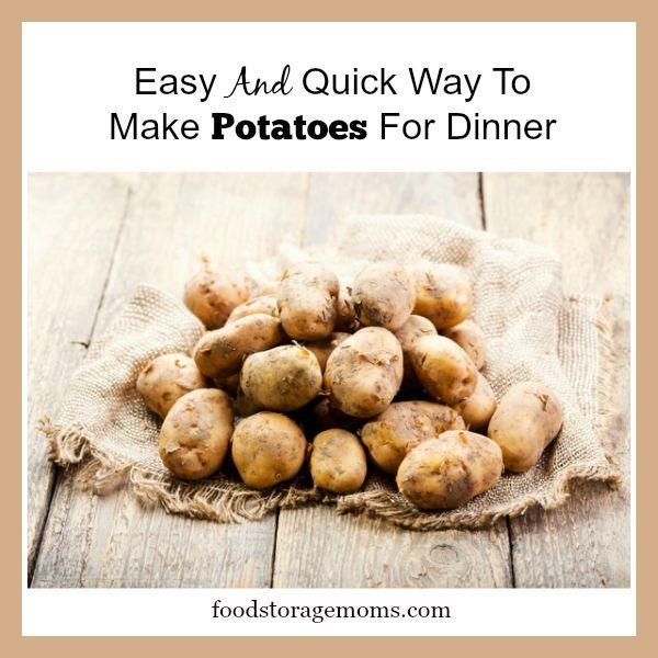 how to make potato salad easy way