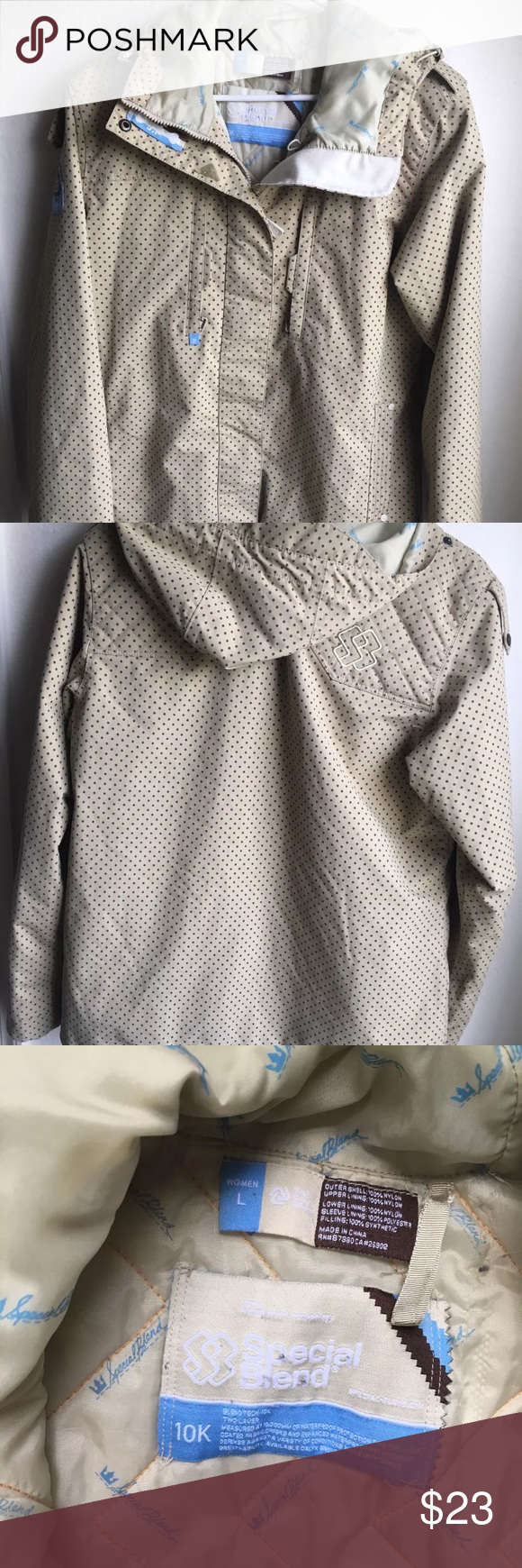 Special Blend 10k Women S Outerwear Jacket Sz L Women Outerwear Jacket Outerwear Women Outerwear [ 1740 x 580 Pixel ]