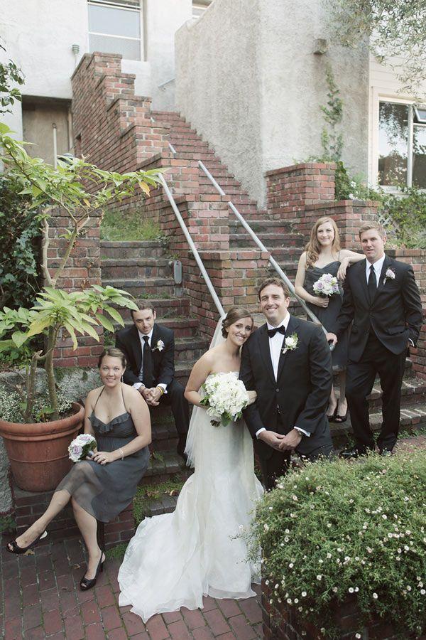 Am Bridesmaid Dresses In Charcoal Photo By Edyta Szyzlo