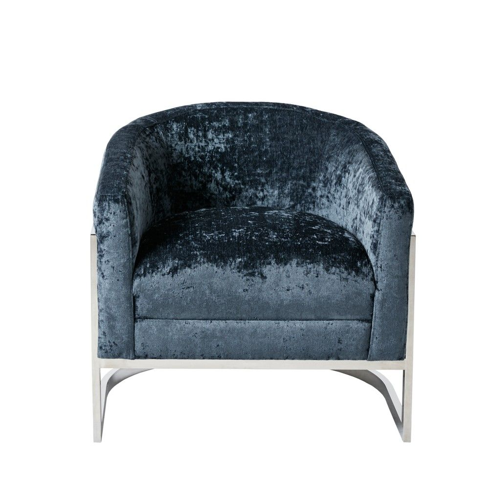 Amazing The Kiley Accent Chair Makes A Statement With Its Trend Bralicious Painted Fabric Chair Ideas Braliciousco