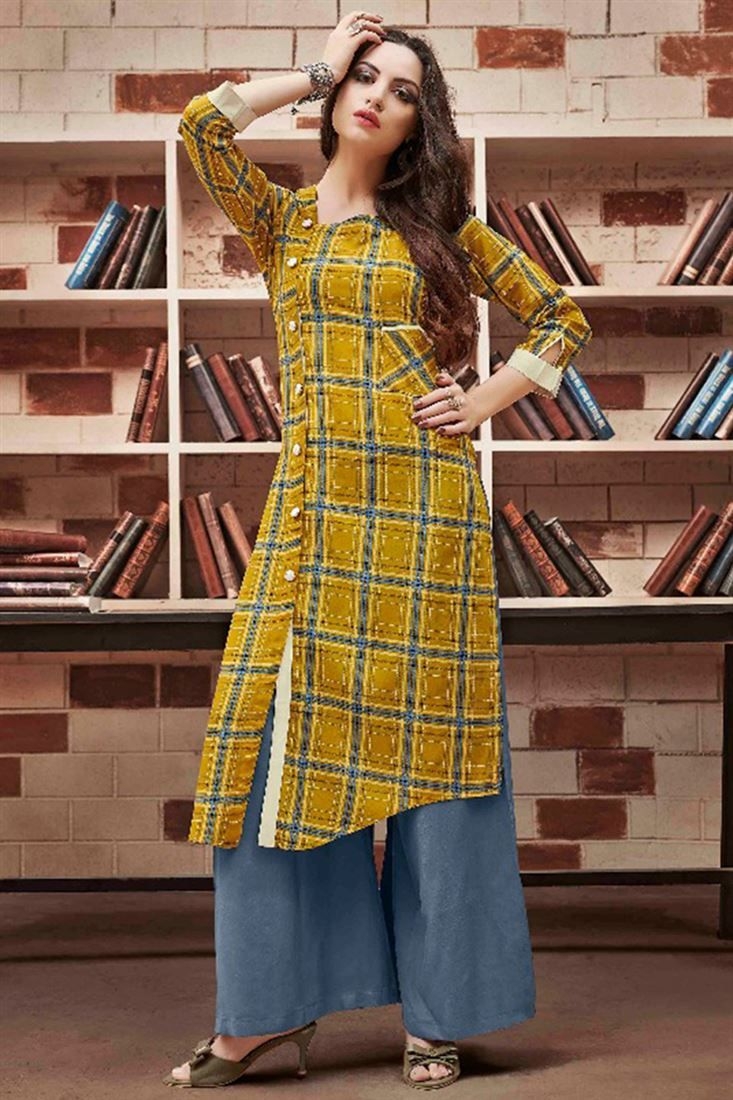Designer Front Slit Latest Kurti Designs 2018 Geeta Pinterest