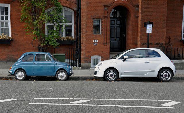 Classic & New Fiat 500