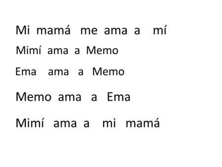 Resultado De Imagen De Trazos De Palabras Con Ma Me Mi Mo Mu Syllable Math Memo