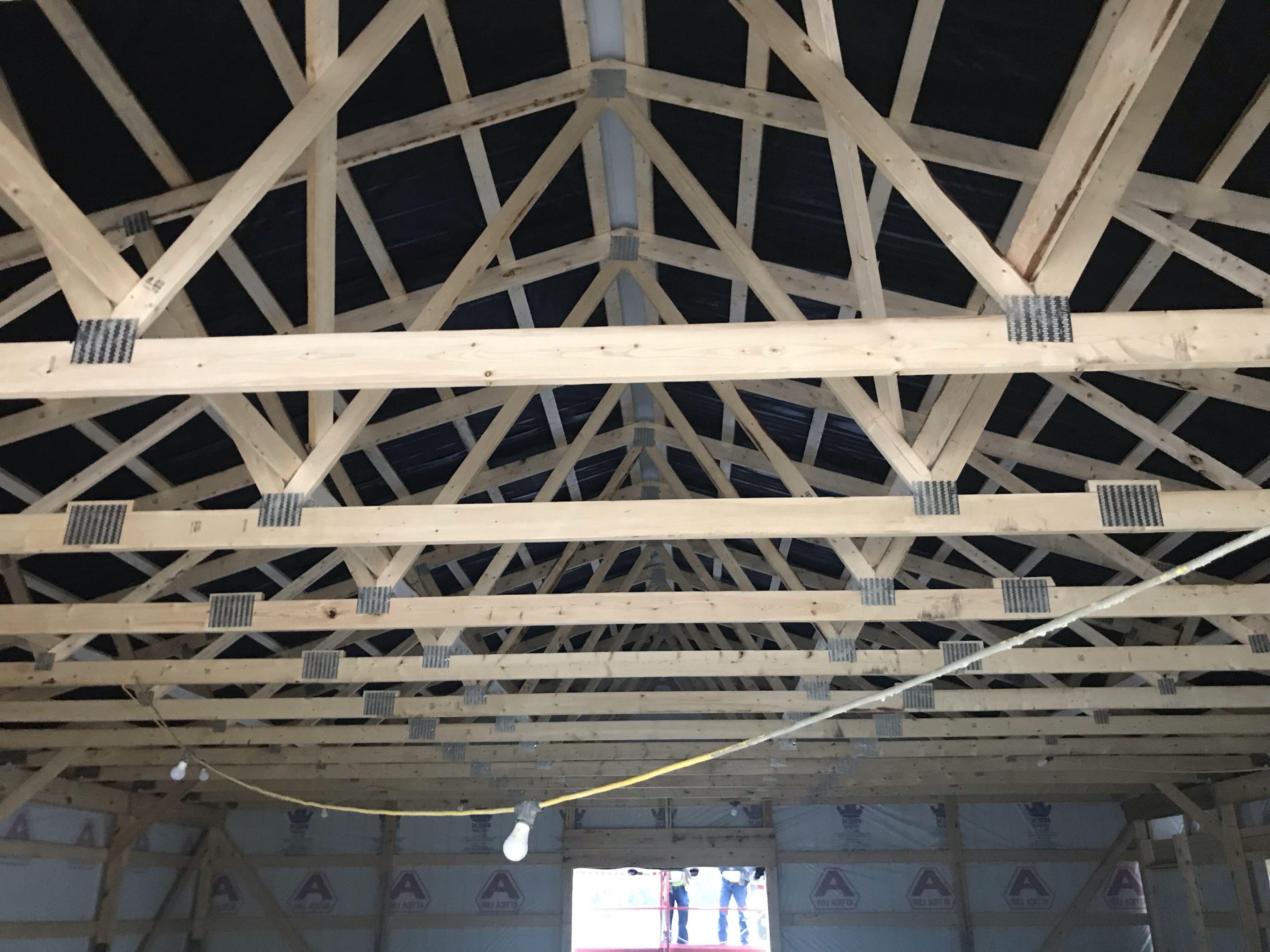 Vapor Barrier For Condensation Control Pole Barn Homes Barn House Building