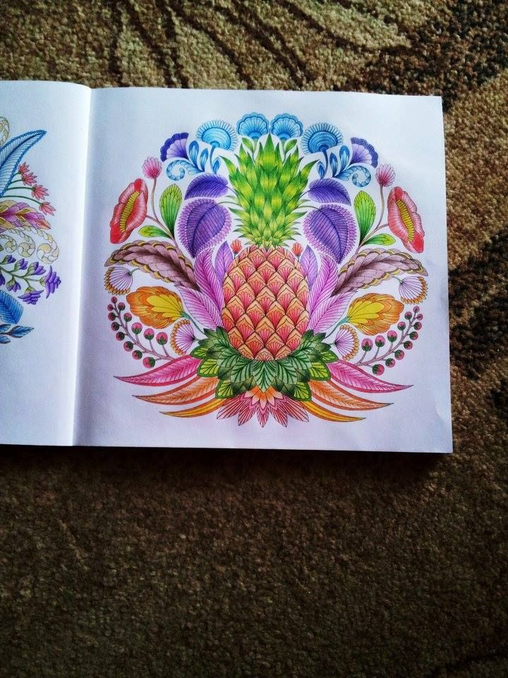 Pineapple Coloring Tropicalwonderland