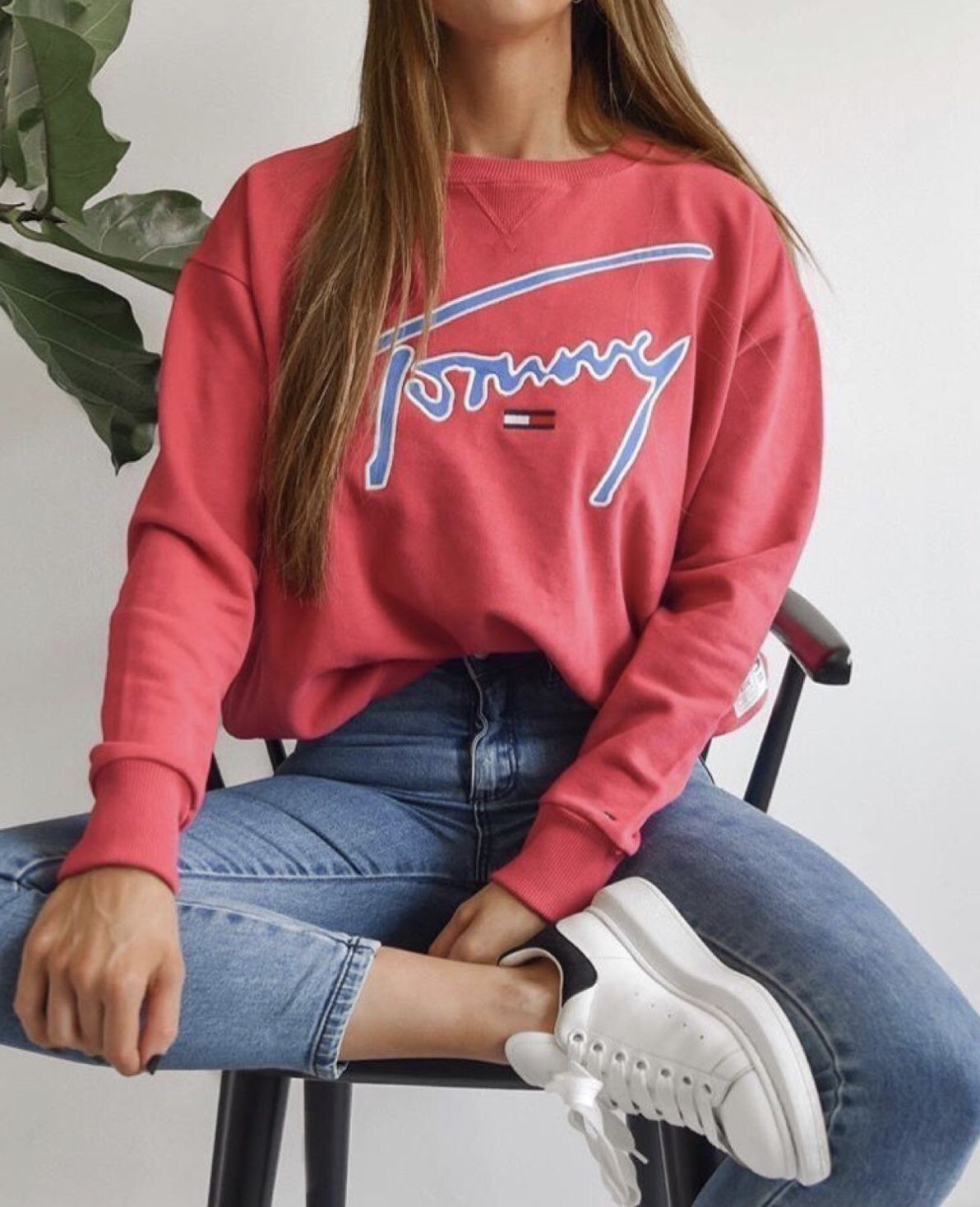 Tommy Jeans Signature Crew Sweat