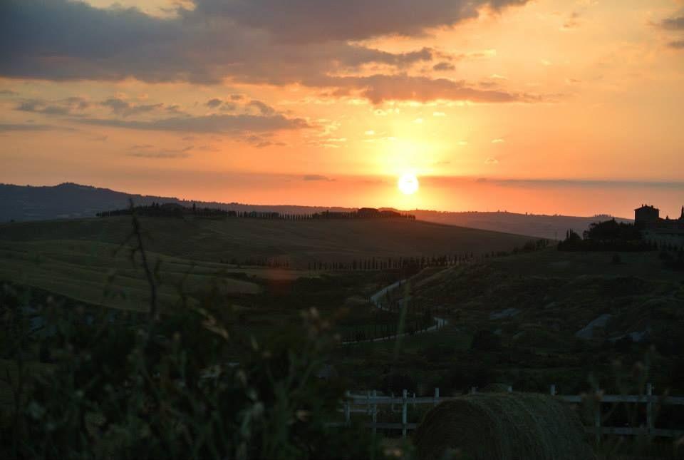 Pienza Hamlet sunset