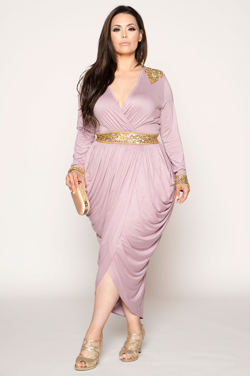 094509aa4f9f6 Hourglass Egyptian Harem Wrap Over Embellished Dress | Clothes in ...