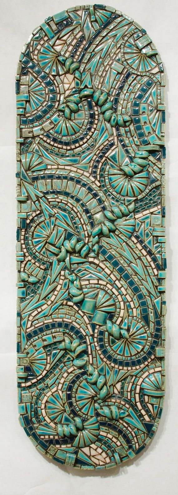 Abstract mosaic original wall art handmade ceramic tile pathways abstract mosaic original wall art handmade ceramic tile pathways dailygadgetfo Gallery