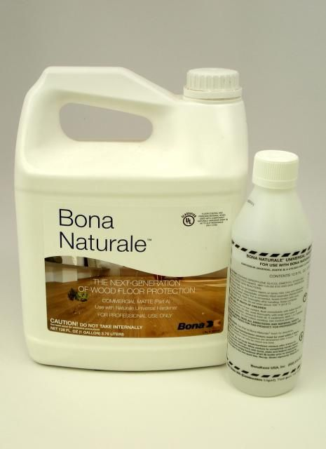 Bona Naturale Waterborne Wood Floor Finish Commercial Matte Gallon Chicago Hardwood Flooring