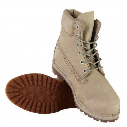 online retailer dfa9f 749c4 Timberland 6-inch Premium Waterproof Off White Damen   Shoes ...
