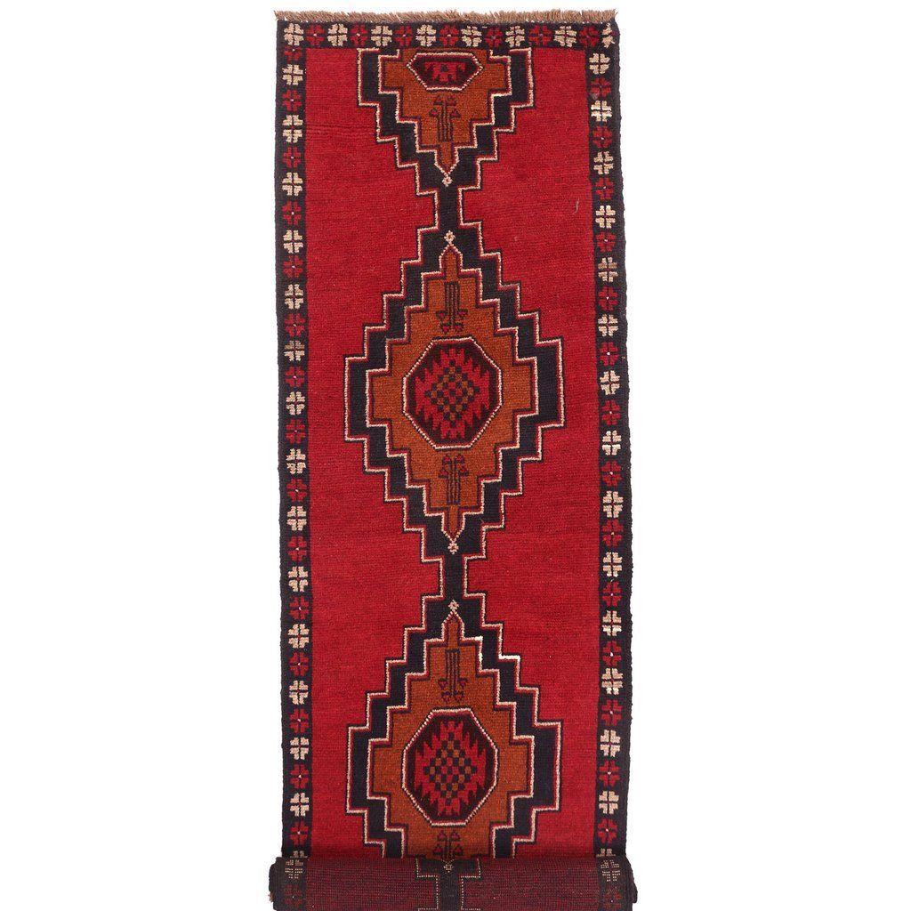 Baluchi Runner 2 2 X 9 Ft No 1075 Handmade Rug Handmade Runner Rugs