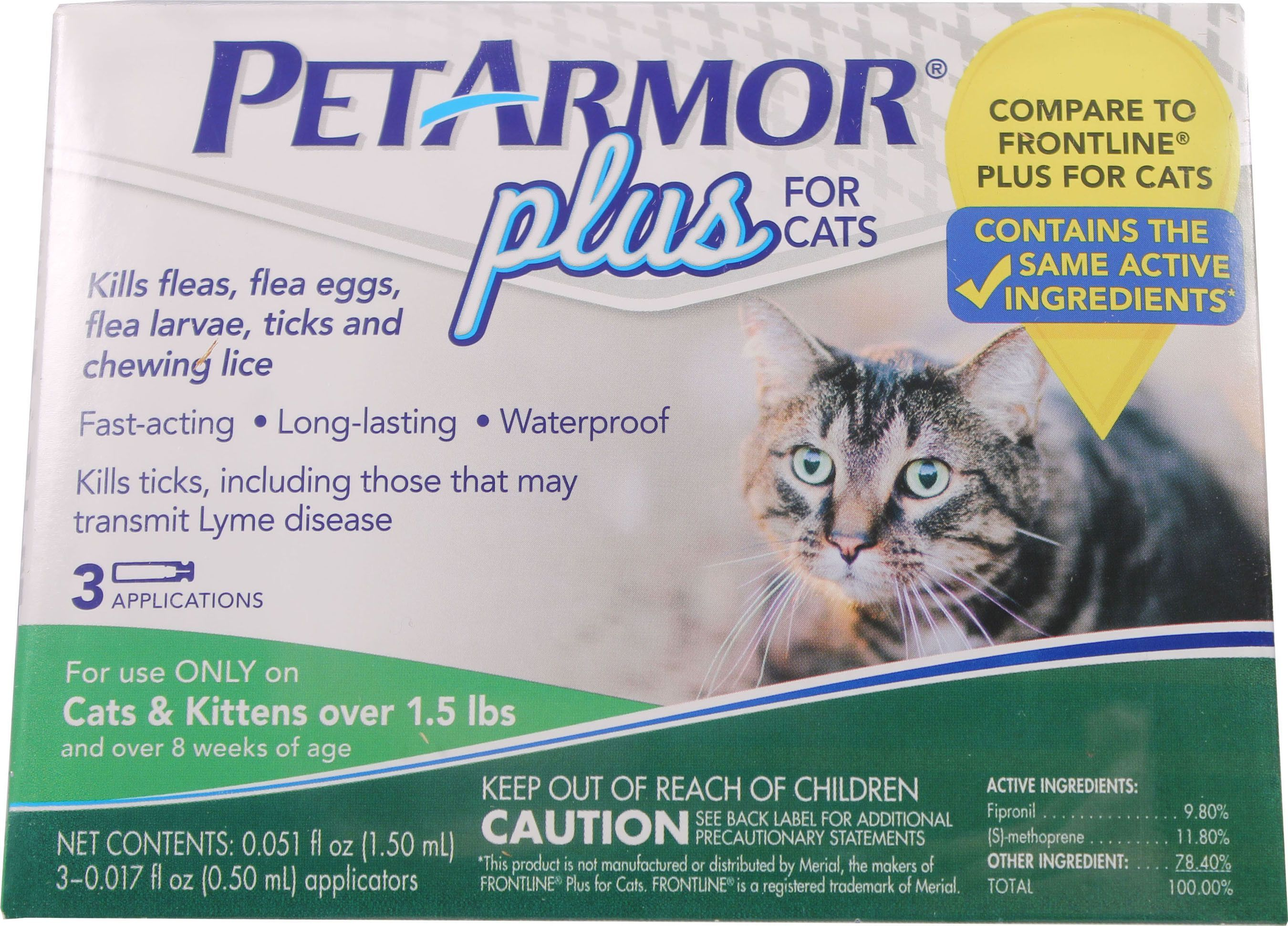 Pet Armor Flea Tick Topical For Cats Cat Fleas Tick Treatment For Cats Cat Fleas Treatment
