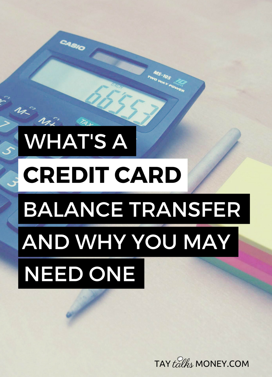 What\'s a Credit Card Balance Transfer | Learning