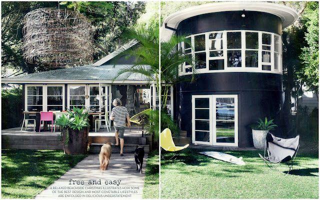 Mark Tuckey S Home Sydney S Northern Beaches Dream House Beach Cottage Style House Styles Silo House