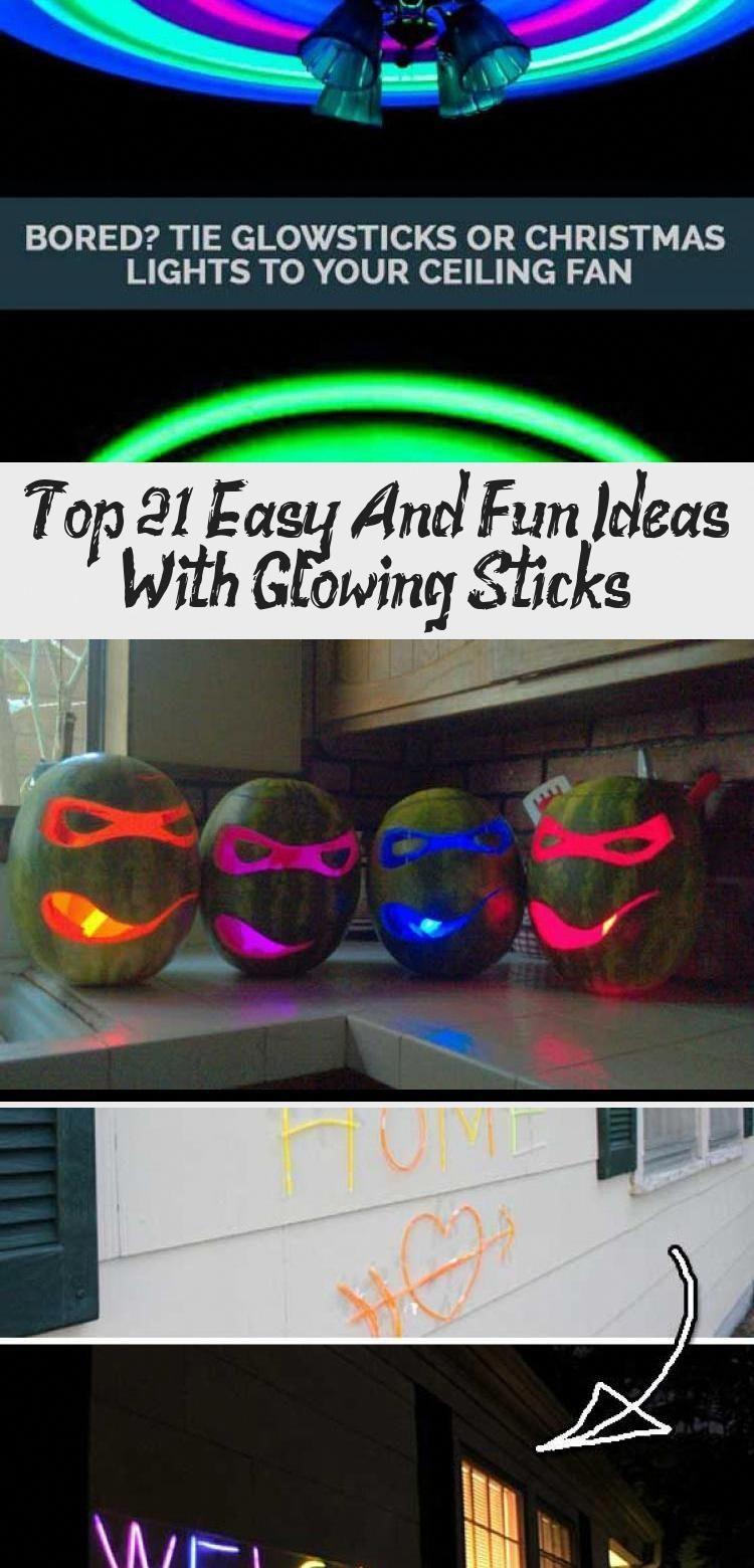Glow Stick Crafts Glowstickcampingidea Glow Sticks Glow Stick Crafts Halloween Party Decor Diy