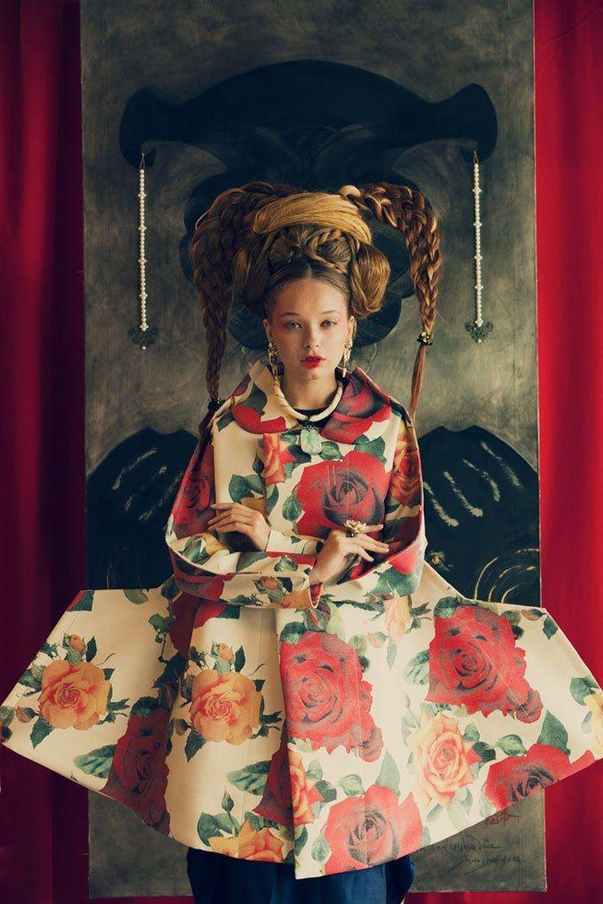 Split Personality Fashion Editorials Oriental Fashion Editorial Fashion Fashion Photography