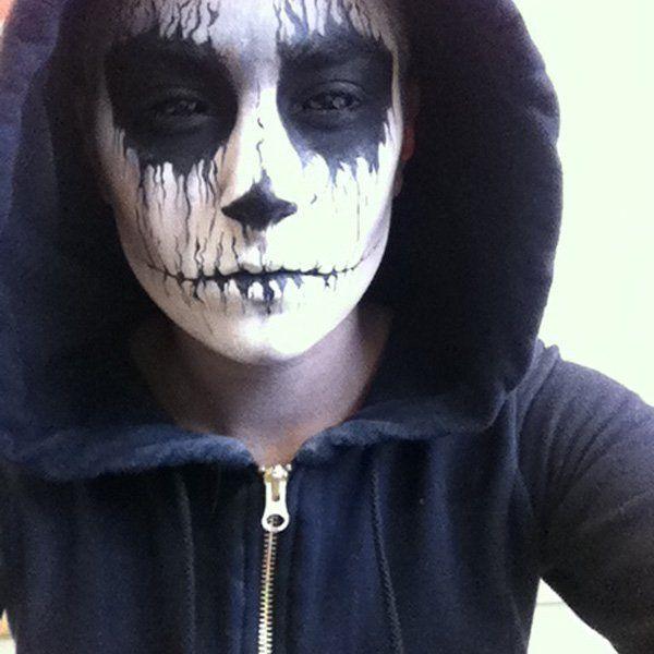 45 Examples Of DIY Halloween Makeup