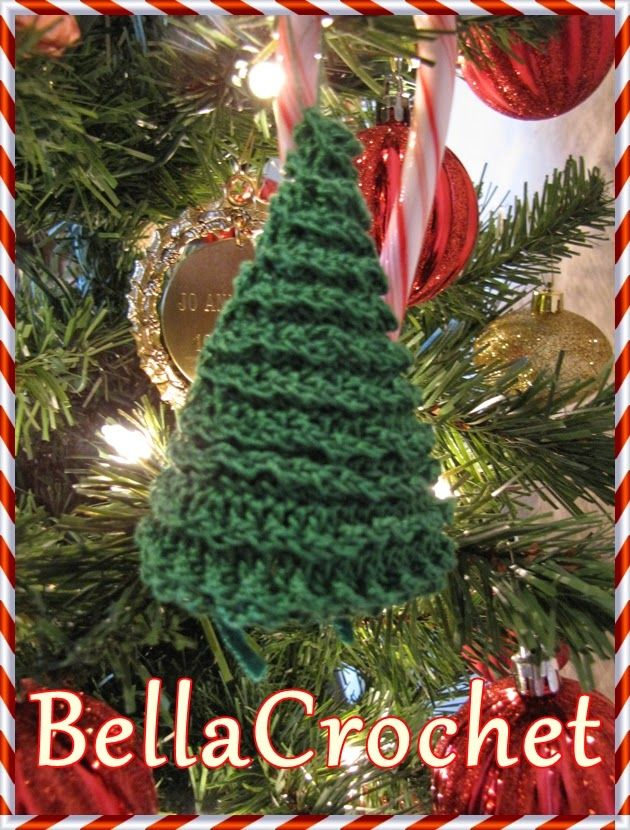 BellaCrochet: Country Cottage and Tree Ornaments; A Free Crochet ...
