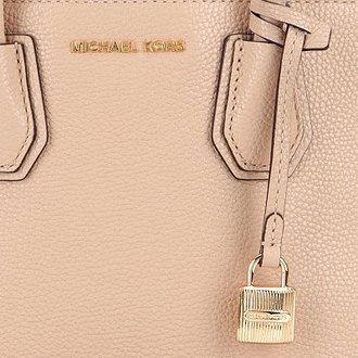 6f1599a62a40 ... Michael Kors MERCER medium Messenger (Oyster) Mercer Medium Bonded-Leather  Crossbody (OYSTER) new positive products ladies bags shoulder bag handbag