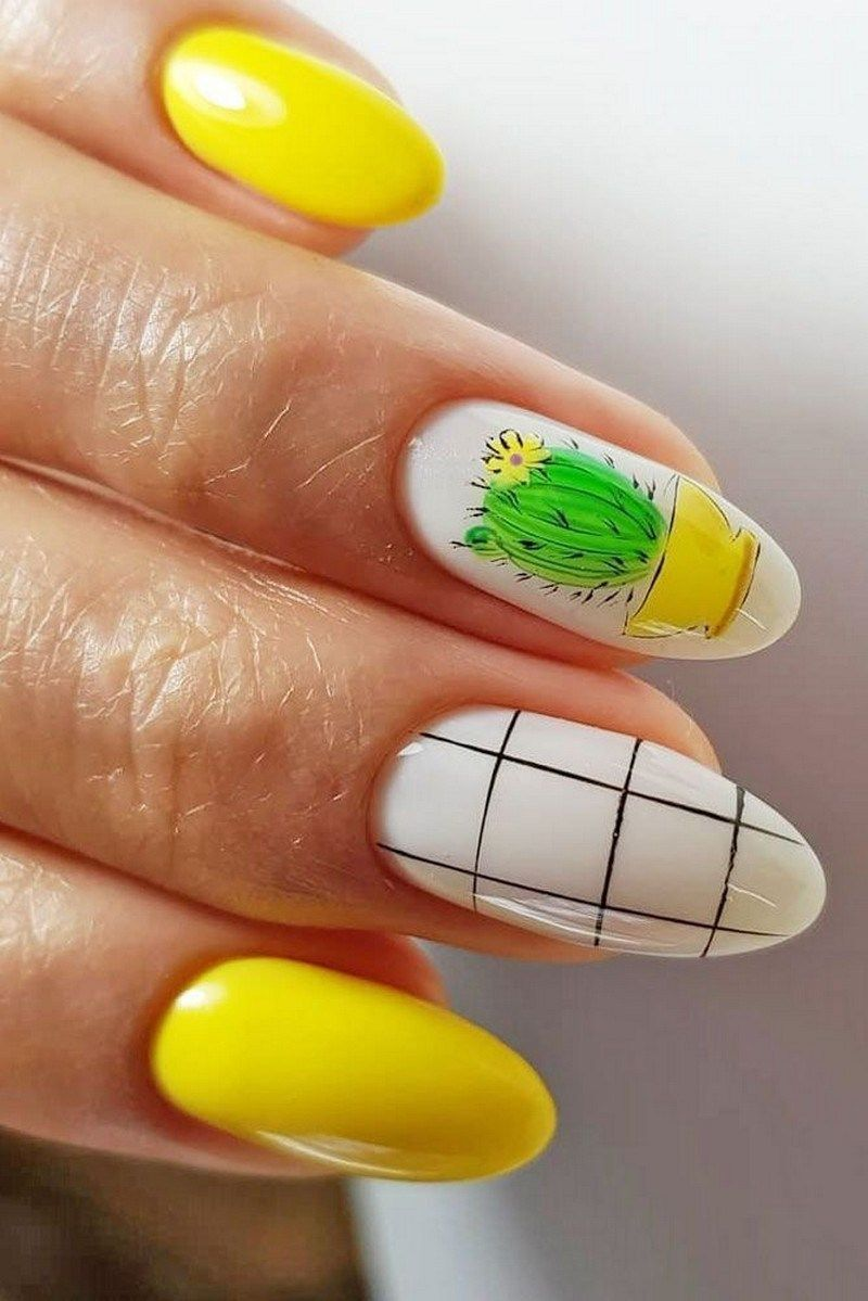55 special summer nail designs for exceptional look best nails for spring 2019 38 » Welcome is part of nails - nails
