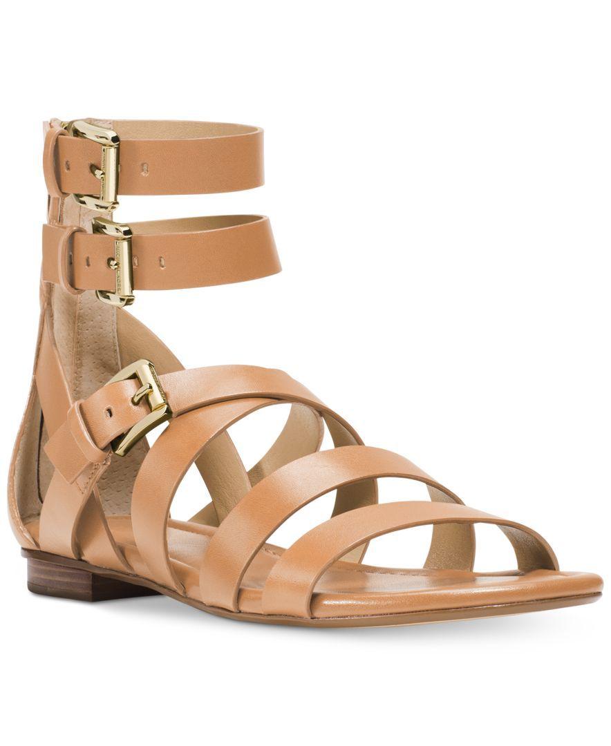 Michael Michael Kors Jocelyn Flat Gladiator Sandals