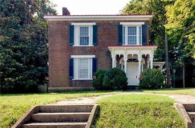 1835 Federal Columbia Tn Historic Homes For Sale Historic Homes Old Houses For Sale