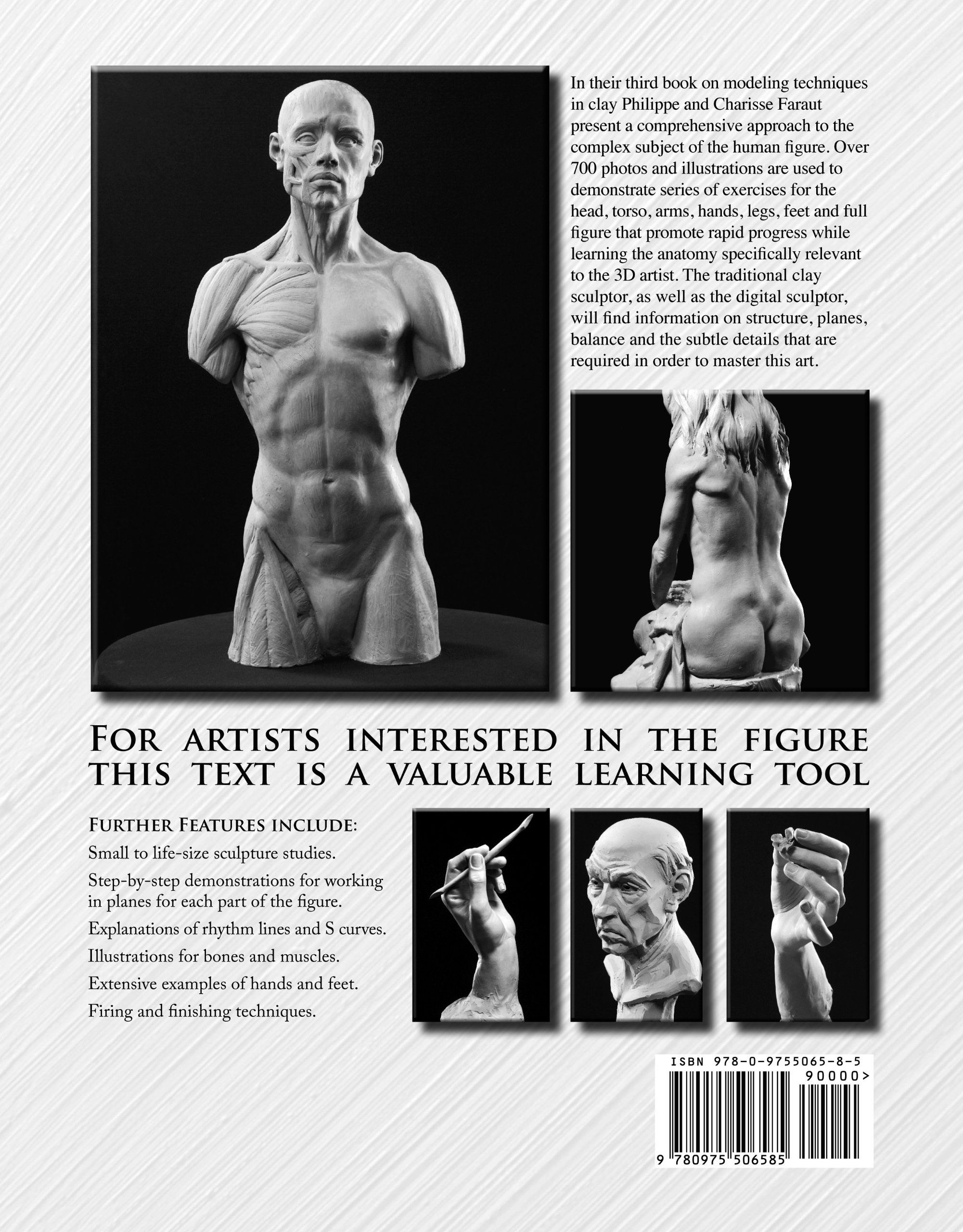Book: Figure Sculpting Volume 1: Planes and Construction Techniques in Clay:  Philippe Faraut