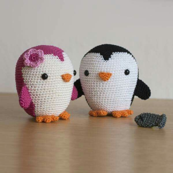 Inspiration - Penguin, couple | Amigurumi | Pinterest | Tejido ...