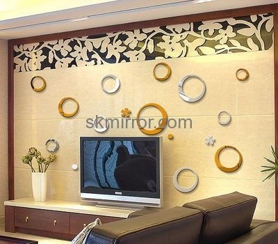 China acrylic mirror suppliers custom acrylic mirror wall stickers ...