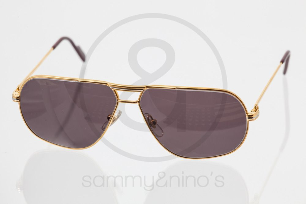 a3cb729218ca9 Image of Cartier Tank gold 59-12    Vintage Sunglasses