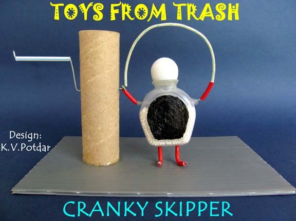 Toys from Trash. Recommended by Andrea Beaty, author of Rosie Revere Engineer and ONE GIRL [Abrams 2017]. www.andreabeaty.com