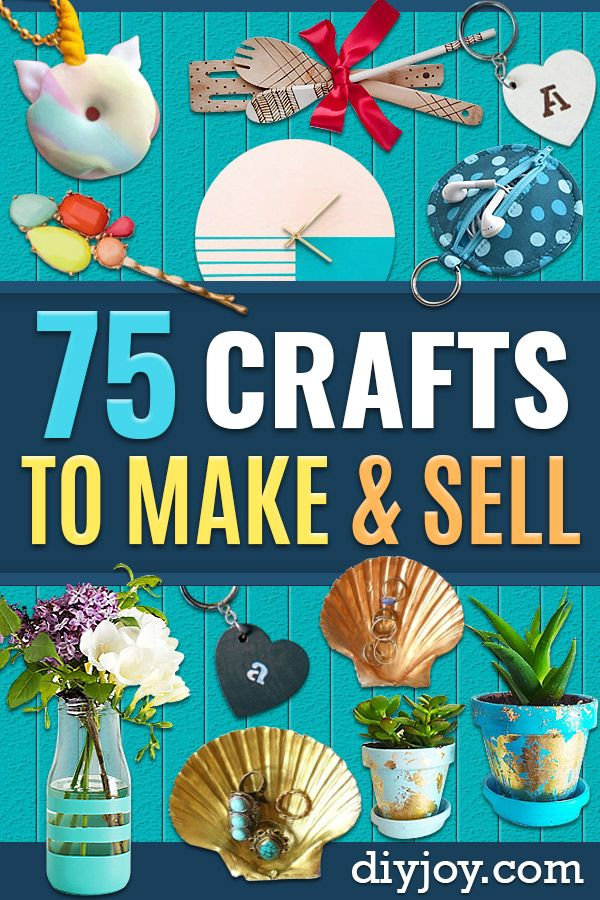 75 MORE Brilliant Crafts to Make and Sell #craftstomakeandsell