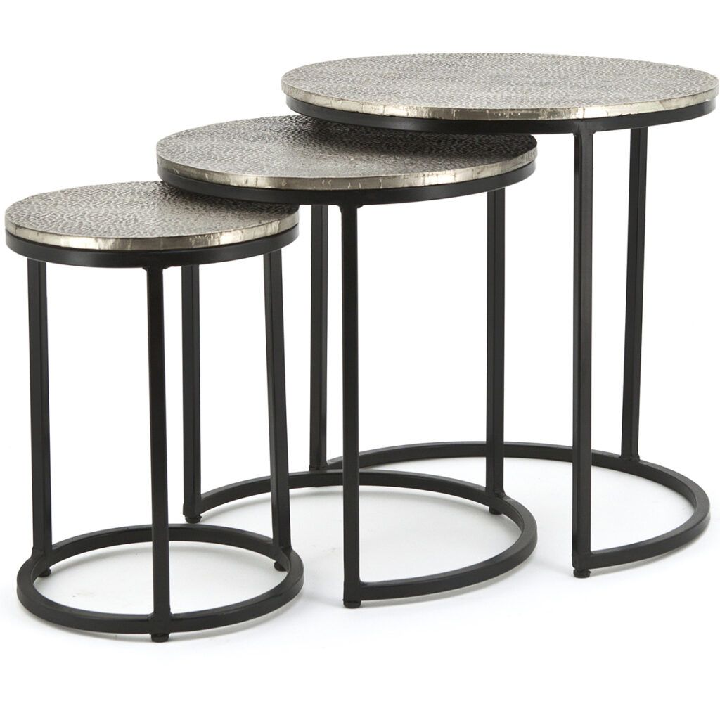 Trapeze Round Coffee Table 3 Set Coffee Table Round Coffee Table Cool Coffee Tables [ 1024 x 1024 Pixel ]