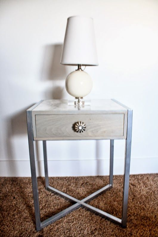 Marble Contact Paper Furniture Makeover Target Side Table Interior