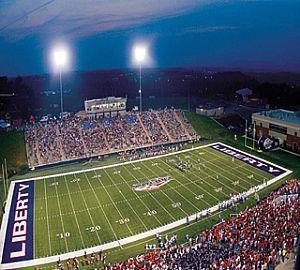 Liberty Flames Football Stadium Liberty University Lynchburg Football Stadiums
